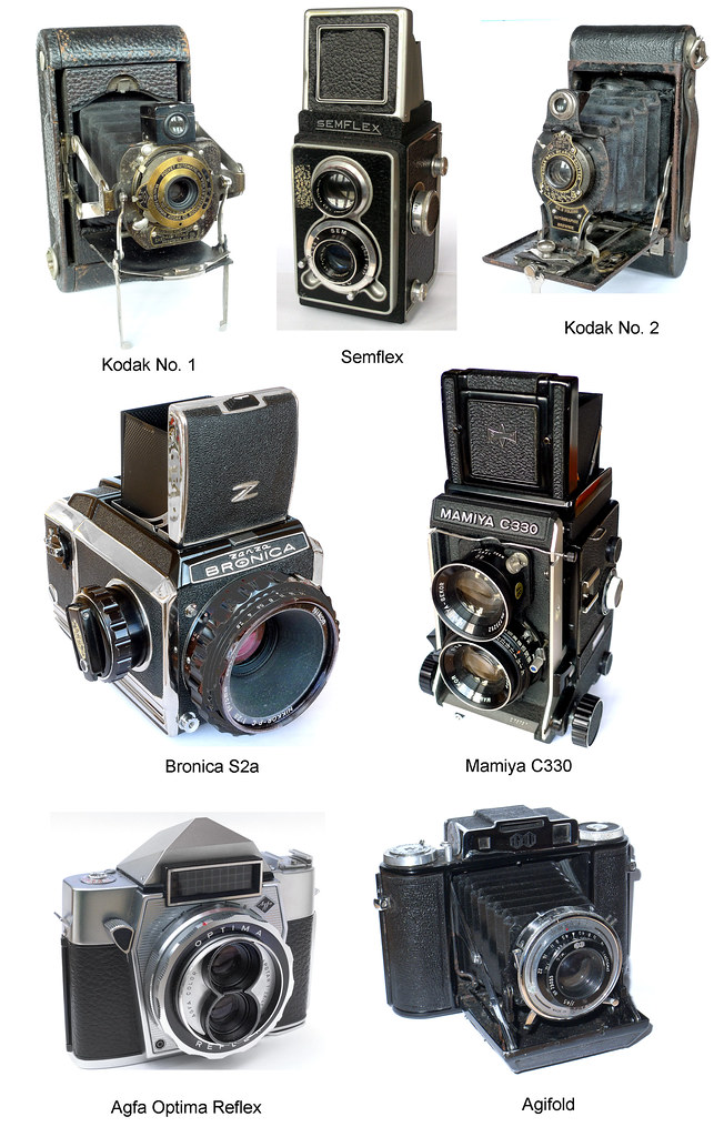 My Camera Collection (4) TLRs and Medium-format Cameras 19… | Flickr