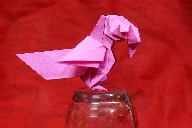 Origami Parrot (17,000+ views!)