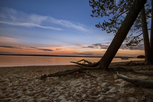 Fall evening at Kelly beach