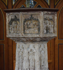 seven sacrament font