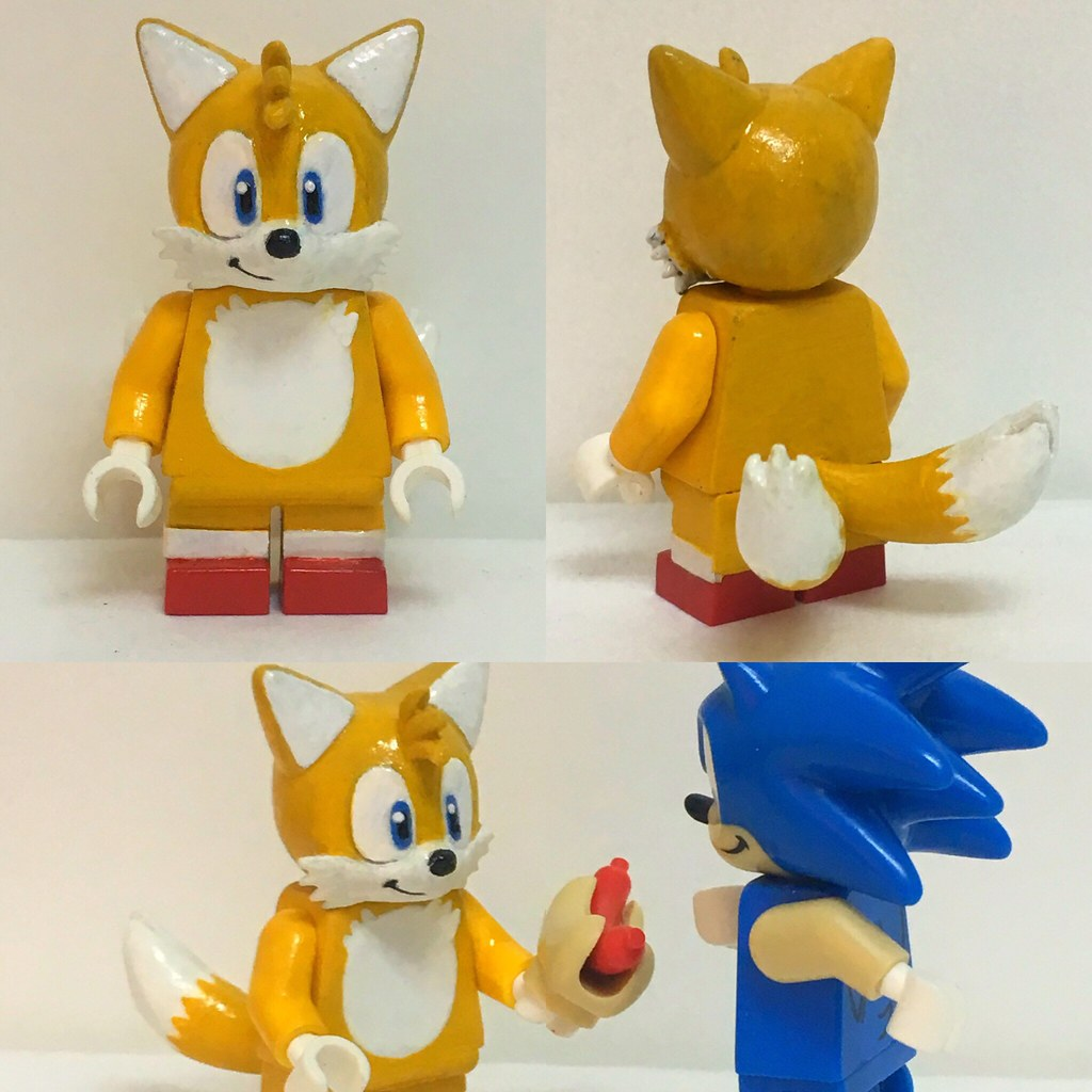 Miles Tails Prower Sonic The Hedgehog Lego Dimension Flickr