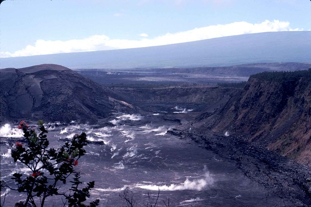 Kilauea crater - Hawaii