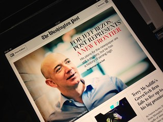 The Washington Post /  iPad | by clasesdeperiodismo