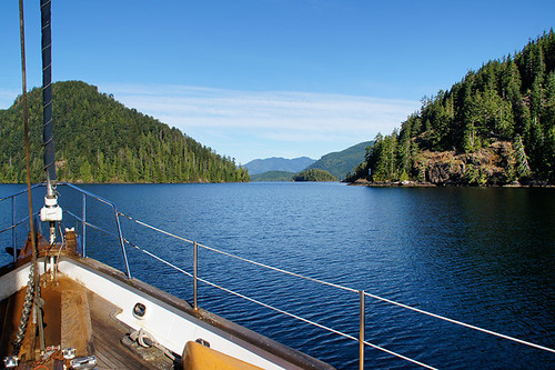 Fair Harbour, Kyuquot Sound, Vancouver Island, British Columbia, Canada. Photo: Santa Brussouw.