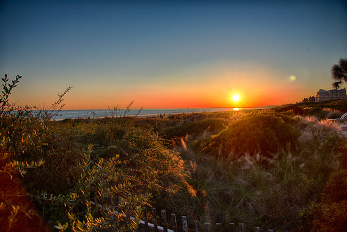 sunset southcarolina kiawah kiawahisland thesanctuary