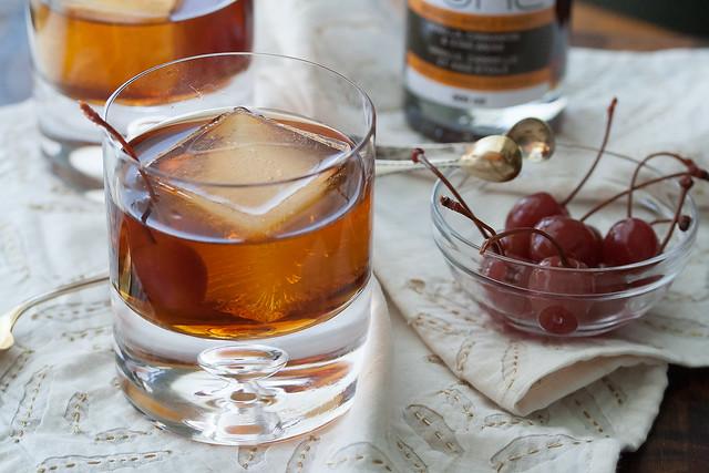 Spiced Maple Manhattan