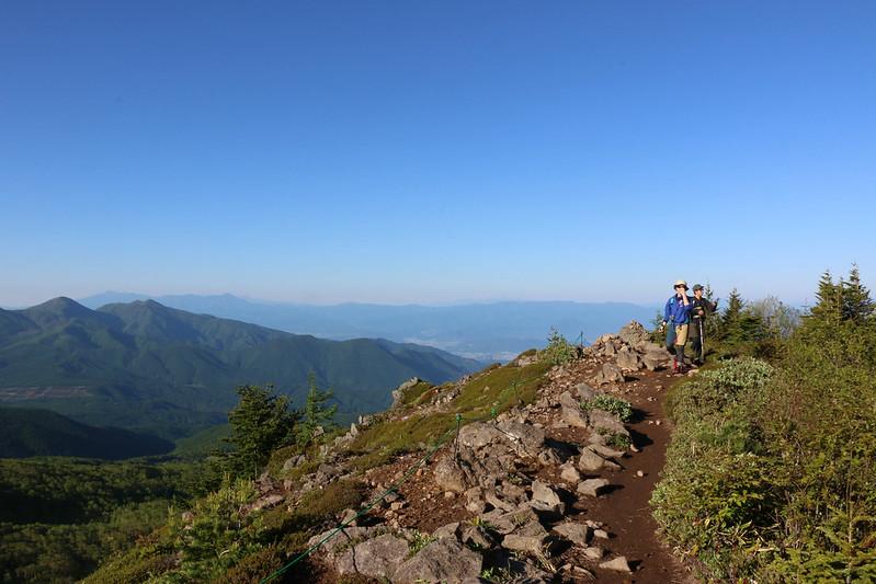 四阿山 登山