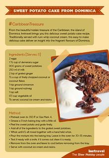 Sweet Potato Cake Recipe Card | by CulinaryTravels