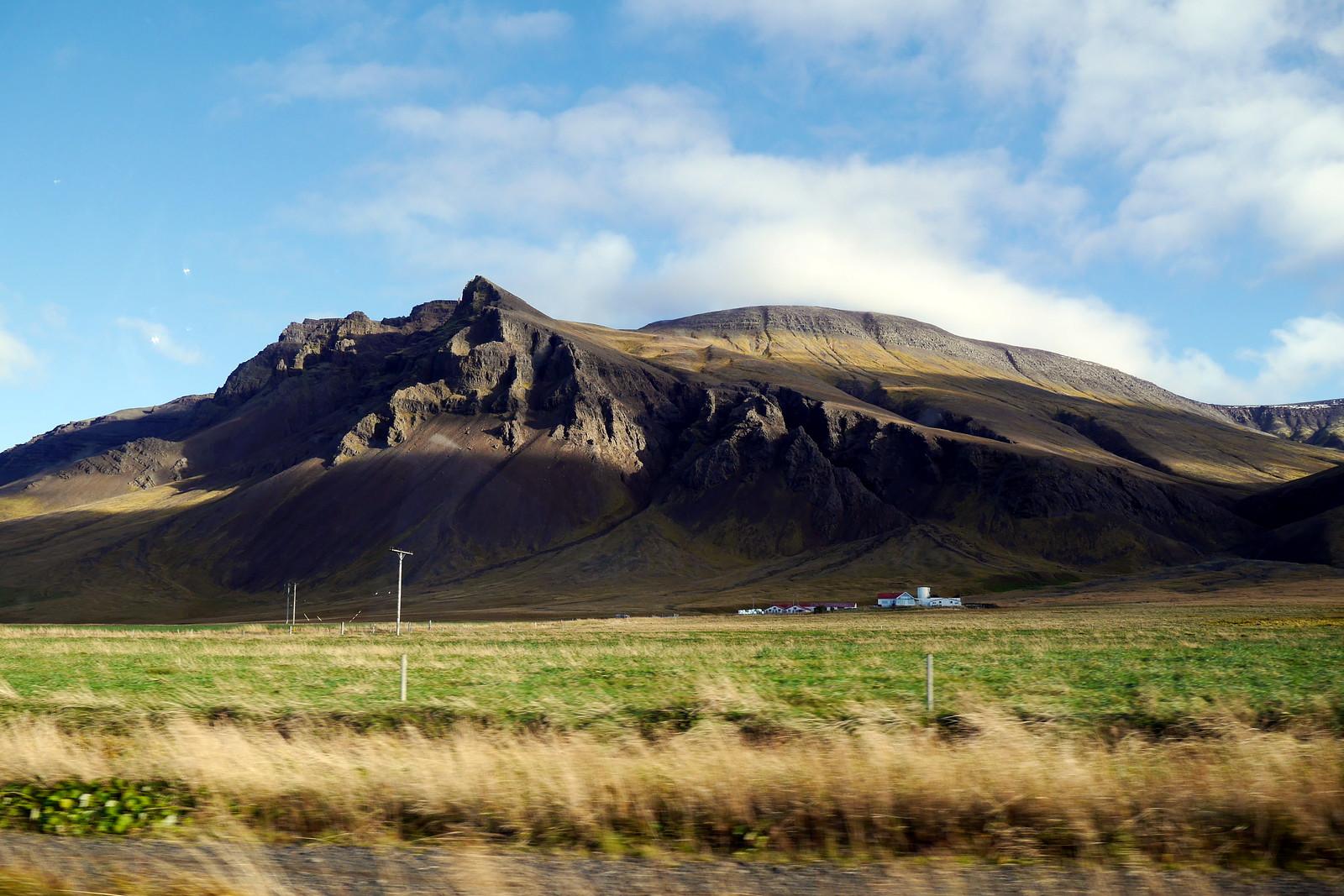 Roadside Views Leaving Reykjavik