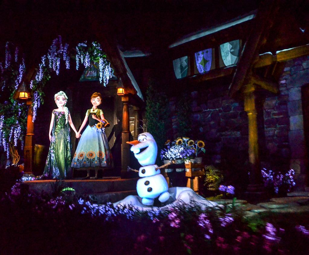 Final scene Frozen Ever After