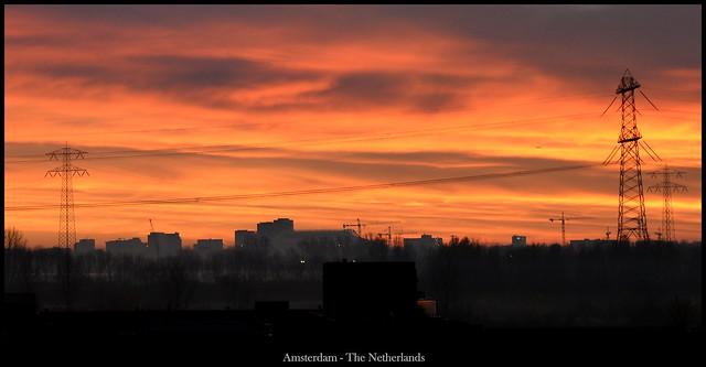 Amsterdam this evening #nofilter