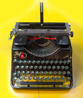 Ruf portable typewriter | by shordzi