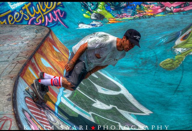 ★ Julien Benoliel, Marseille, Sosh Freestyle Cup (World Cup Skateboarding) ~ Karim SAARI ©