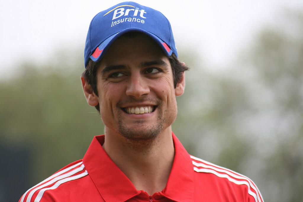 Alastair Cook England Cricket Captain Alastair Cook Usag