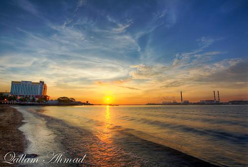 sea cloud seascape sunrise canon laut tokina hdr johor 1116 60d stulang