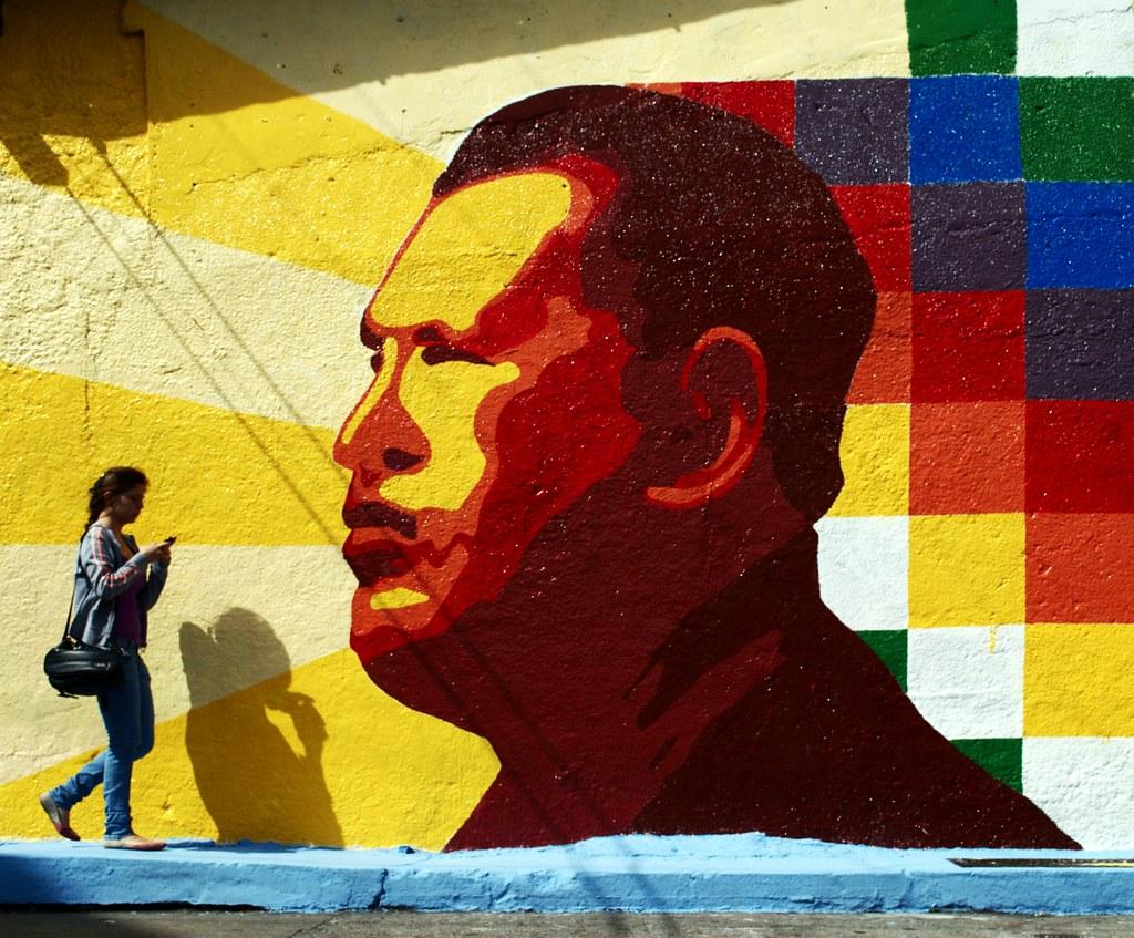 Mural | Hugo Chavez | David Hernández (aka davidhdz) | Flickr