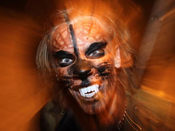 Halloween Makeup Looks For Guys.Scary Wolverine Halloween Makeup Ideas Guys Faux Teeth Flickr