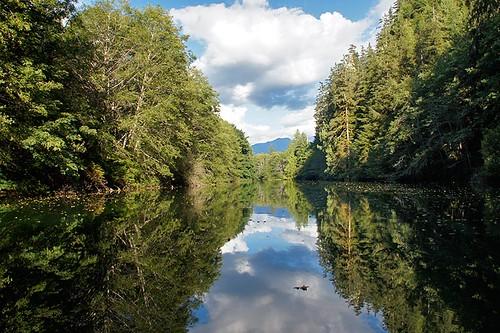 Kaouk River, Fair Harbour, Vancouver Island, British Columbia, Canada. Photo: Santa Brussouw.