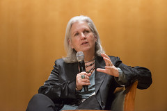 """Terry Tempest Williams, award-winning author of """"Refuge: An Unnatural History of Family & Place"""" and """"Finding Beauty in a Broken World,"""" discussed the role of the humanities in environmentalism."""