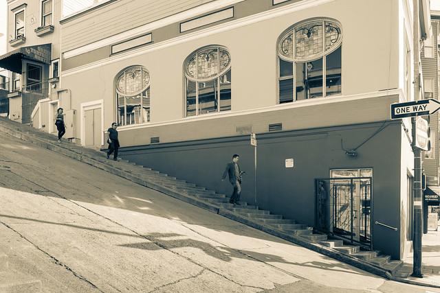 Kearney Street Steps