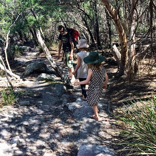 Wineglass Bay. Walking up a saddle between the Hazards. | by miaow