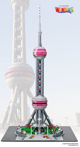 LEGO Oriental Pearl Tower