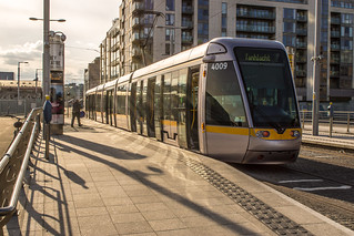 Luas Tram At The Point Depot | by infomatique
