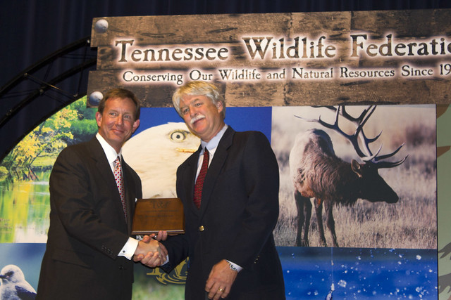 Rex Boner, Tennessee Wildlife Federation Award Ceremony, Nashville, TN