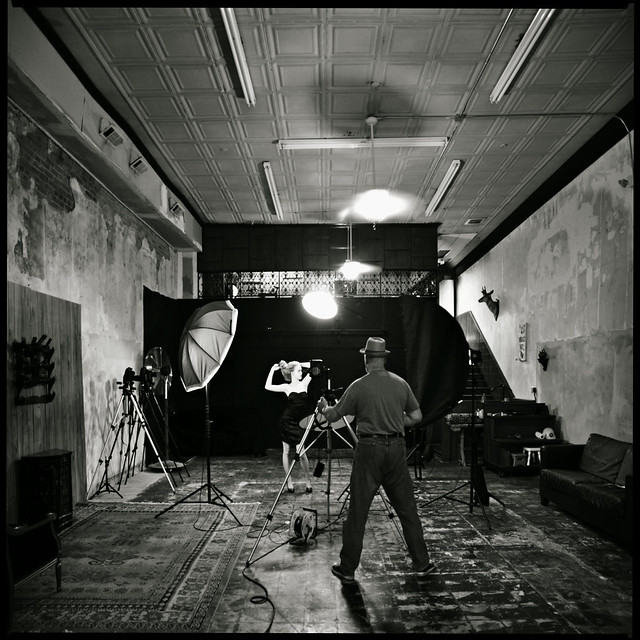 Quick Shoot in the Studio