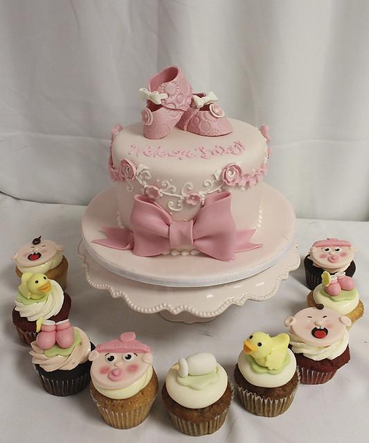 torte für babyparty