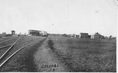 Calomba Railway Siding c. 1920