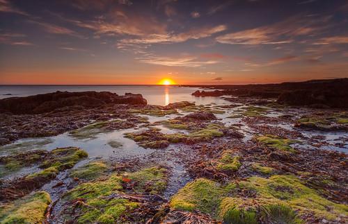 sunset sea sun water night canon eos iceland big hard filter lee nd 5d filters grad ísland reykjanes stopper nótt exposures sól longex sólsetur suðurnes