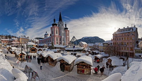 Advent Mariazell Pano Tag