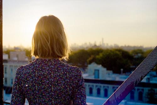 newyorkcity sunset film 35mm