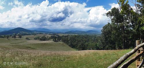 rappahannockcounty virginia va usa rural mountains view vista landscape fields farms