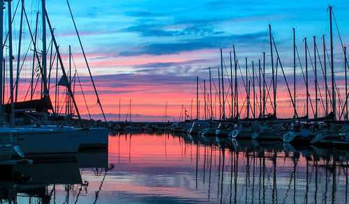 dawn morning colors waterways walking nature tourism travelling sailboat miamifl clouds seashore skies sony autdoor