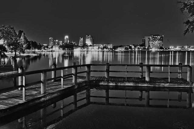 View of downtown Orlando, Florida, USA / The City Beautiful