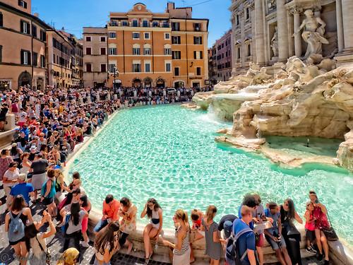 Rome's Tourists