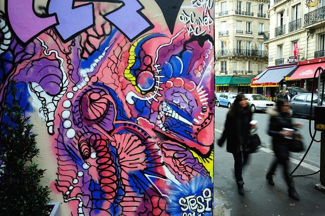 Street art - Stesi graffiti