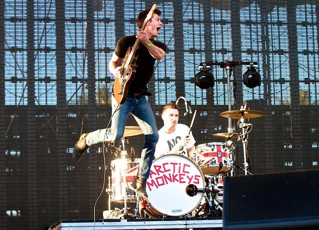 ARCTIC MONKEYS (Alex Turner and Matt Helders)