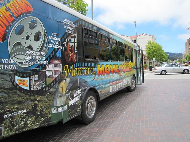Monterey Movie Tours Bus