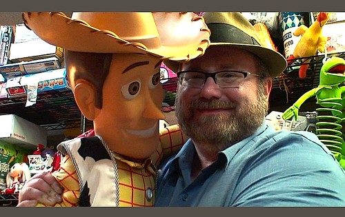 HUGE Sheriff Woody Toy Story with Mike Mozart