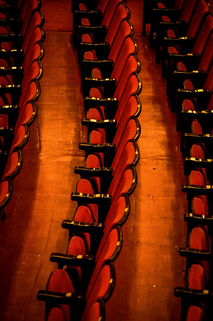 Orchestra Floor Seating Chairs