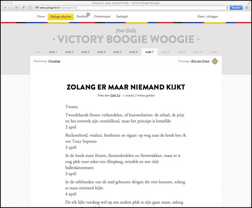 Victory Boogie Woogie | by whatsthehubbub