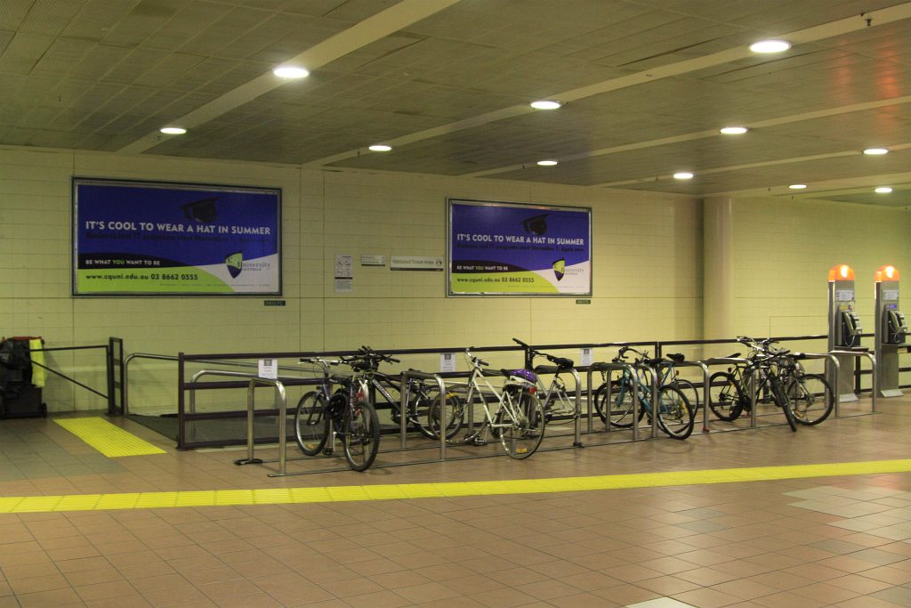 Undercover Bicycle Parking At Box Hill Railway Station Flickr