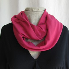 Infinity Scarf - Hot Pink