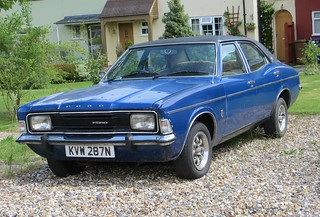 1975 Ford Cortina 2000E   by Spottedlaurel