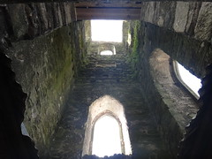 Inside the 19th Century Tower of Baltinglass Abbey
