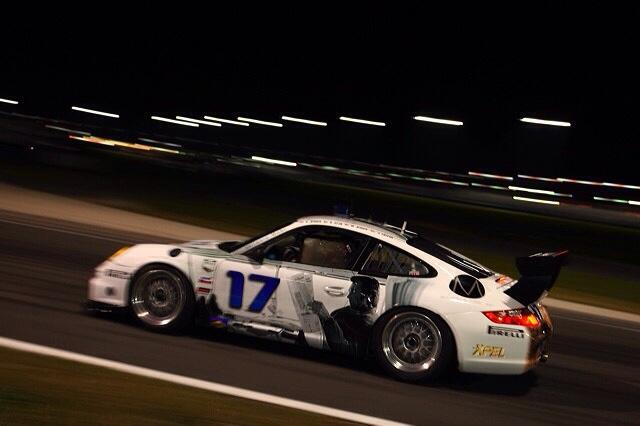 Porsche race car wrap by TechnoSigns in Orlando, Florida