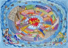 The Big Bang (52 x 76 acrylic on canvas)